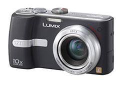 Panasonic Lumix DMC-TZ1, the worlds smallest 10x optical zoom digital still camera