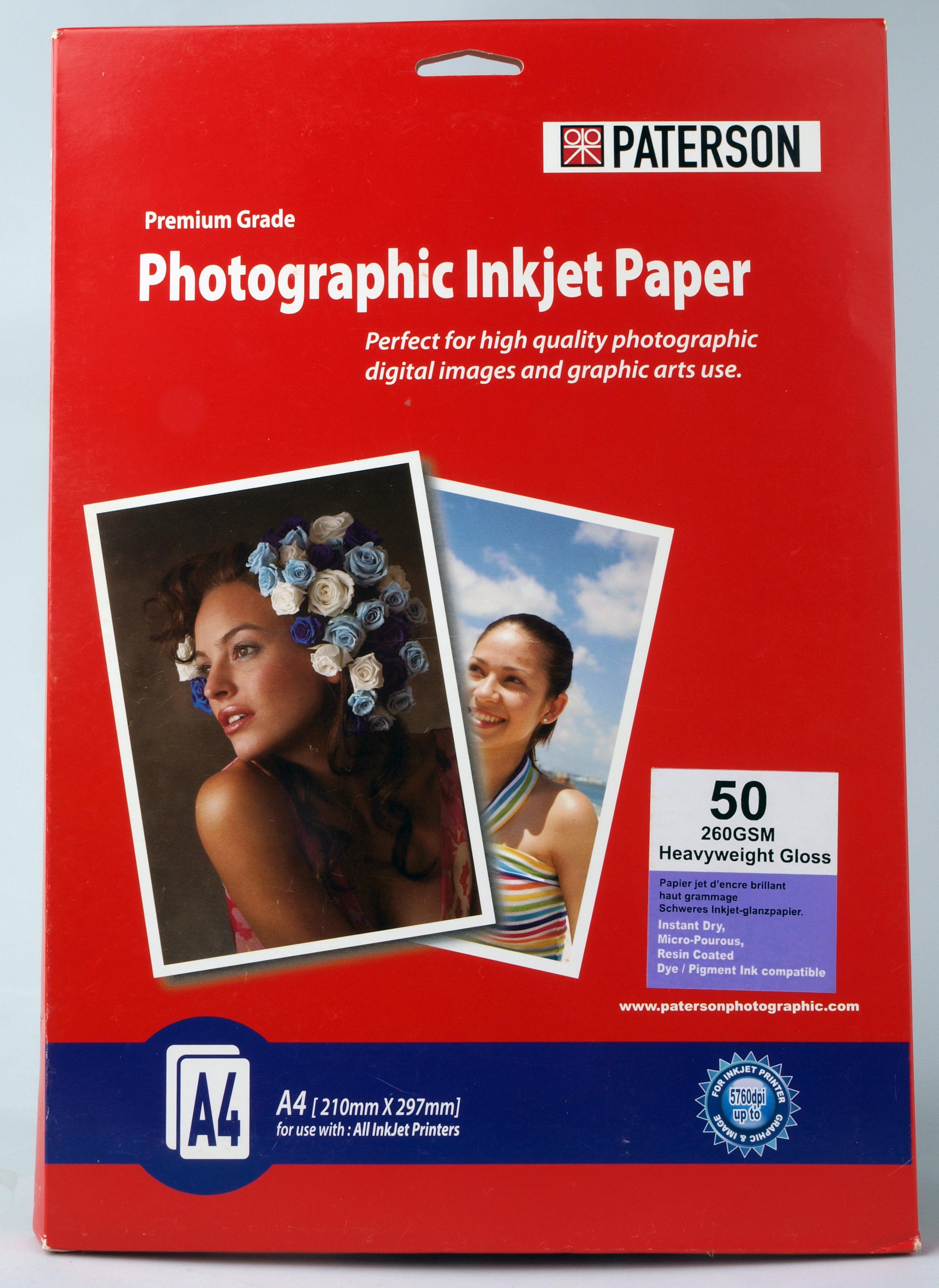 Wide Format Inkjet Paper Guide