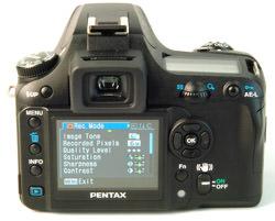 Pentax K100D Super LCD