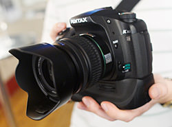 Pentax K10D - Hands on preview