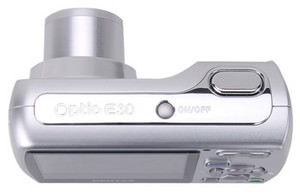 Pentax Optio E30 - new 7.1Mp compact launched