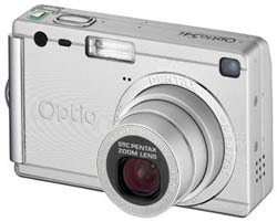 Pentax Optio S4i announced