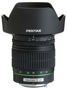 Pentax announce ultra-wide-angle 12mm-24mm f4  zoom lens