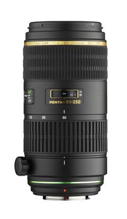 Pentax DA* 60-250mm f4 ED