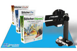 Stitcher Express 2 and Panosaurus VR tripod head