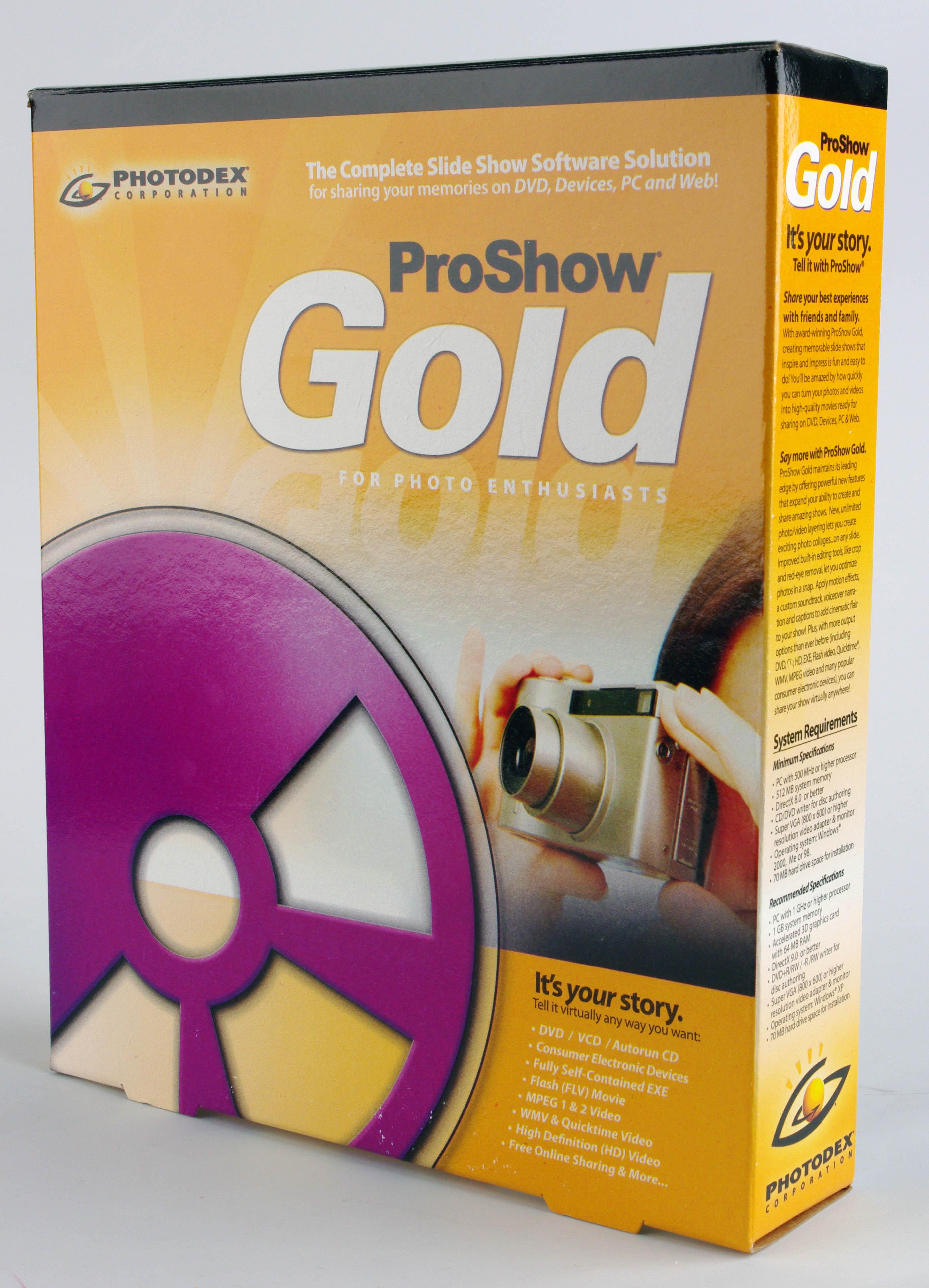 Photodex proshow gold 4.1 2737 spolszczenie