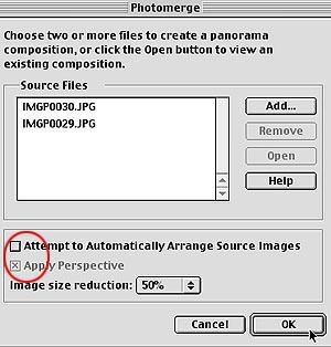 Photomerge in Photoshop Elements - software guide | ePHOTOzine