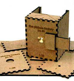 Pinhole Factory MDF  DIY 5x4inch cameras