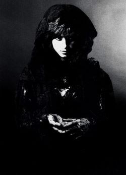 black reflector on portrait