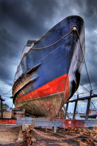 Blended ship