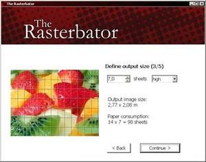 Rasterbator standalone version 1.2