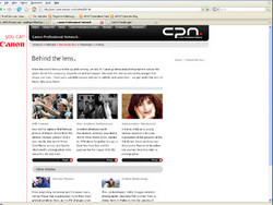 CPS re-launch Canon Professional Network