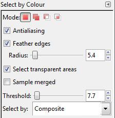 Colour Selector tool