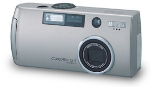 Ricoh Caplio G3 Model S added to the range