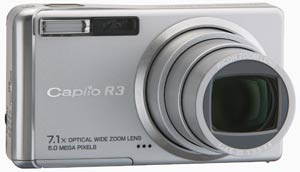 Ricoh Caplio R3 announced