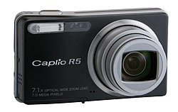 Ricoh Caplio R5 firmware update version 1.44