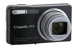Ricoh Caplio R5 firmware update version 1.44