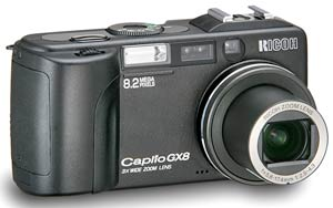 Ricoh launch Caplio GX8