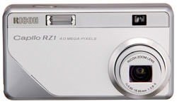 Ricoh launch the Caplio RZ1 a 4.0 megapixel digital camera