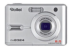 Rollei DA8324 8 megapixel camera announced