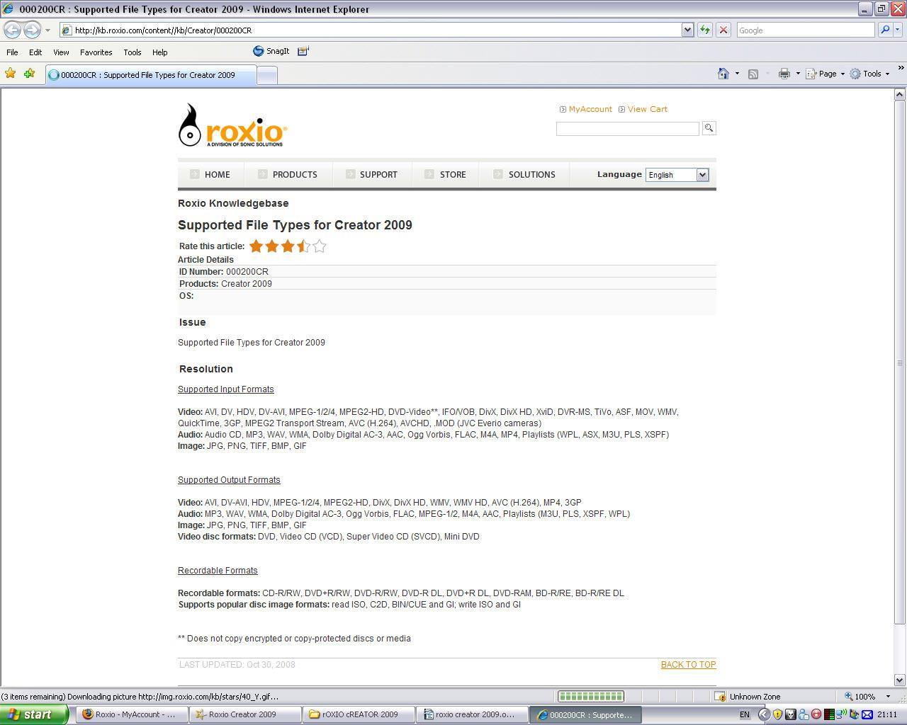 Roxio Creator 2009 Review | ePHOTOzine