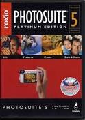 Roxio PhotoSuite 5 Platinum edition