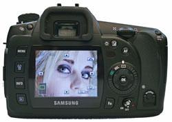 Samsung GX10 LCD