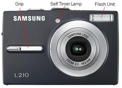 Samsung L210 Front