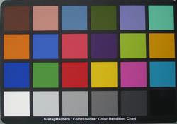 L700 colour chart