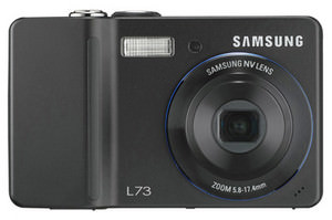 Samsung L73 - 7Mp pocket sized camera launched