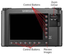 Samsung NV24HD Back
