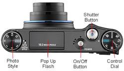 Samsung NV24HD Top