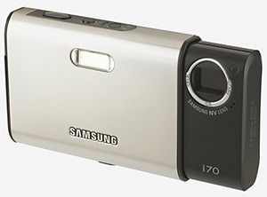 Samsung i70 - stylish camera launched