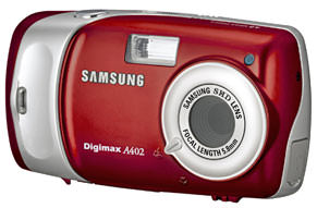 Samsung unveil the A402 compact digital camera