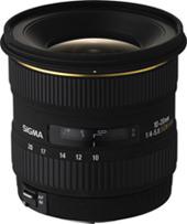 Sigma 10-20mm lens scoops TIPA 2006 award