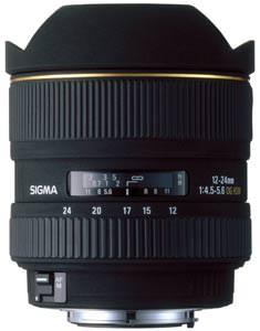 Sigma 12-24mm EX DG