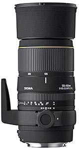 Sigma 135-400mm F4.5-5.6 DG announced