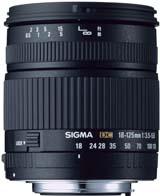 Sigma 18-125mm