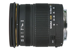 Sigma 18-50mm F2.8 EX DC now available in Four Thirds fitting