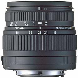 Sigma 18-50mm f/2.8 EX DC
