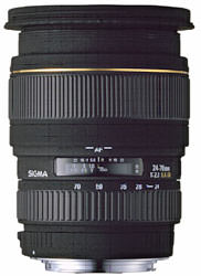 Sigma 24-70mm f/2.8 EX DG Macro announced