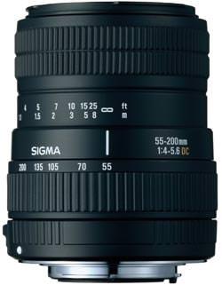Sigma 55-200mm DC