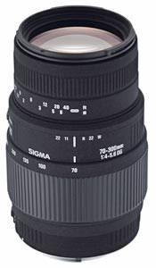 Sigma 70-300mm F4-5.6 DG MACRO launched