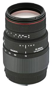 Sigma 70-300mm f/4-5.6 APO DG MACRO announced