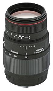 Sigma 70-300mm f/4-5.6 APO DG MACRO announced