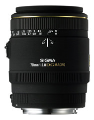 Sigma 70mm f/2.8 Macro EX DG