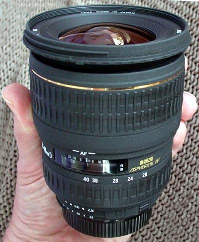 Sigma EX Aspherical DG DF 20-40mm f2.8