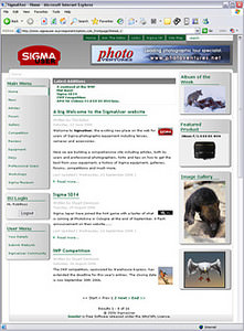 Sigma User website launched