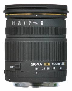 Sigma add 18-50mm f2.8 EX DC to EX series
