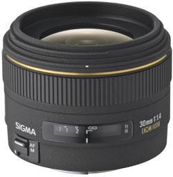 Sigma add 30mm f/1.4 EX DC HSM to digital range